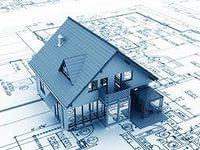 Эскиз к  проекту двухэтажного дома   Общая площадь - 93 м2
