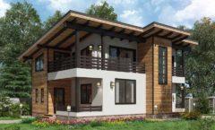 Два эскиза к проектам домов